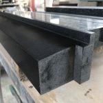zwart graniet onderdorpel