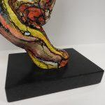 zwart graniet gepolijst sokkel