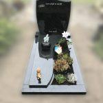 nero assoluto indian black monument golvende dekplaat facet golfkop