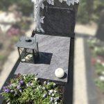 orion grafsteen boom uitgehakt zwart graniet